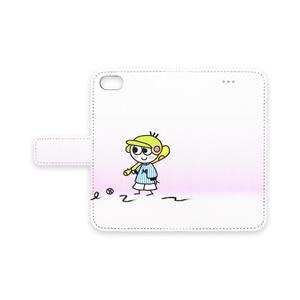 Mutsumi World & Moon Junior 手帳型iPhoneケース iPhone8/7