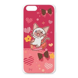 かまってシャムちゃん iPhoneケース(赤)
