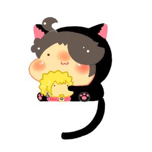 黒猫らぎアクキー