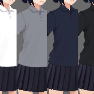 普通のポロシャツ