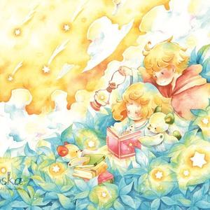 【postcard】星降る青