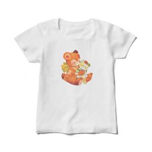 【レディースTシャツ】テディベアベア