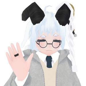 【3Dモデル/3DModel】サキ/Saki【VRCAvatar】
