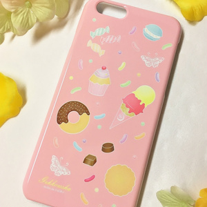 iPhone6/6sケース【sweets】 ※受注生産