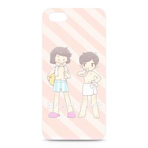 おそ松&イヤミ ♡ お風呂あがり iPhoneケース