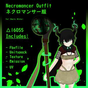 Necromancer Outfit - ネクロマンサー服【オリジナル】v. (シャーロ) Shaclo -Winter-
