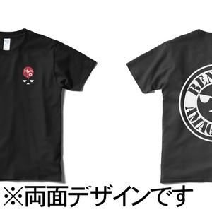 変女【両面】デザインTシャツ(ブラック)