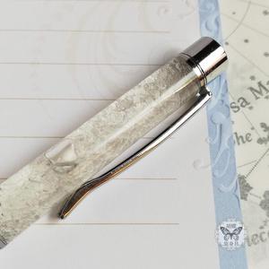 「銀世界」 アンタークチサイトもどきボールペン