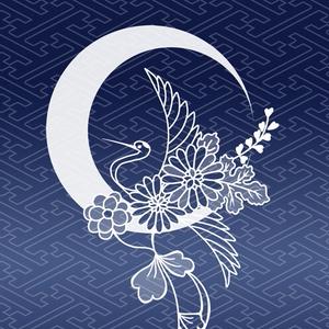 【刀剣乱舞】三日月☓鶴丸イメージiphoneケース/側面印刷