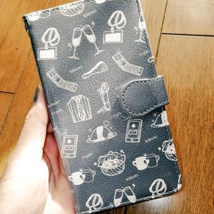 👔🥂👔イメージ手帳型カバー