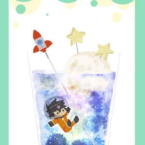 【ポストカード】ロケットソーダ