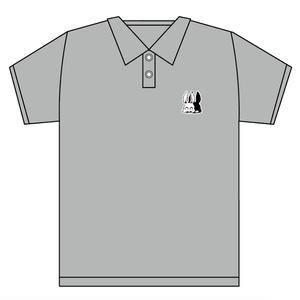 刺繍ワンポイント ポロシャツ『9』グレー【※6月7日まで受付】