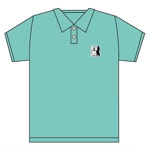 刺繍ワンポイント ポロシャツ『9』ミント【※6月7日まで受付】
