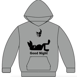 オリジナルパーカー『Good Night(グレー)』【受注生産12月31日まで】
