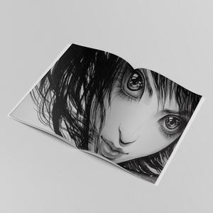 ライブペインティング画集 「PALE GRAY DOT」
