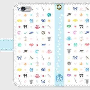 【刀剣乱舞】五虎退モチーフモノグラムiPhone6/6S用携帯カバー