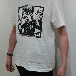 アイコンTシャツ(ホワイト&ブラック)