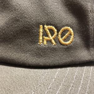 IRO刺繍キャップ(フリーサイズ)