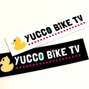 YUCCO BIKE TV アヒルロゴステッカー