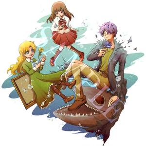 Ib アクリルキーホルダー(3人+深海の世)