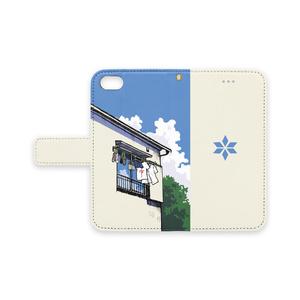 二人暮らしiPhoneケース7-ストラップ穴あり
