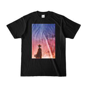 夢の夜明けTシャツ(黒)