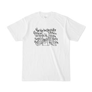 りそりそTシャツ(モノクロ)