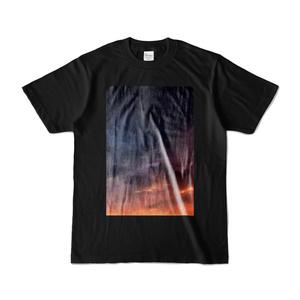こんな夜明けなどTシャツ(キャラ無し・黒)