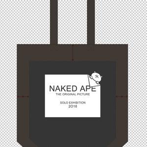 naked ape原画展・イベント限定オリジナルキャンバストート