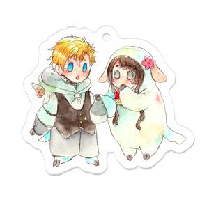 影武者とアサシン~羊仕様アクキー