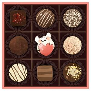 チョコカード