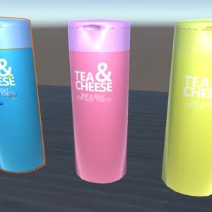 TEA&CHEESEボトル