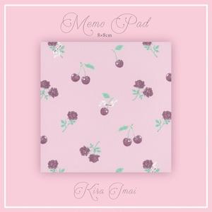 メモパッド[Cherry Rose]