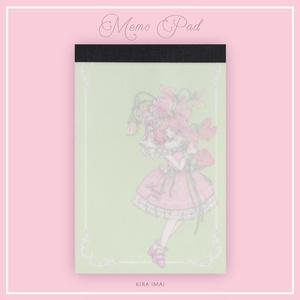 メモパッド[Sweet pea]