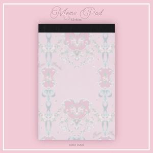 メモパッド[Rose Garden]