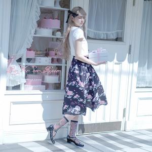 エプロン付きスカート[La Vie en Rose]