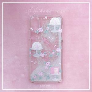 """グリッターiPhoneケース[La Vie en Rose """"X&XS""""]"""