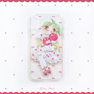 iPhoneケース[Cherry]