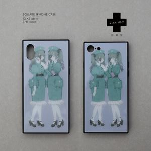 スクエアiPhoneケース[診察室]
