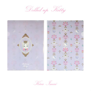 【SALE】クリアファイル[Dolled up Kitty]