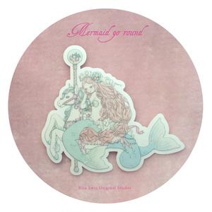 ステッカー[Mermaid go round]