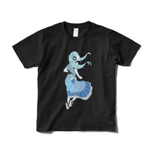 otomoni「Footloose」Tシャツ 白 黒