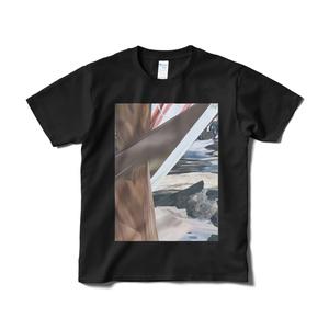 「MINZOKU COLLECTIVE」Tシャツ 白 黒