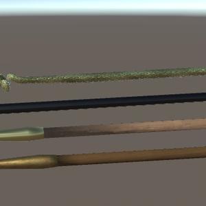 ローポリの煙管(三角面200)v2.1
