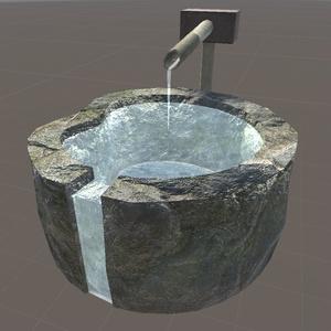水鉢01(本体△642、水△90)