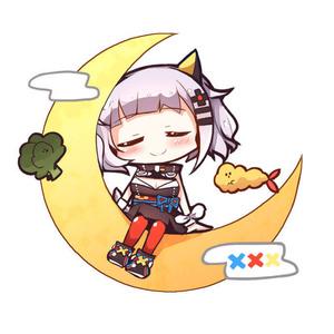 【C95】月ちゃんアクキー