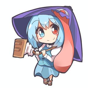 小傘ちゃんシール