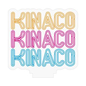 KINACOネオンサインアクリルフィギュア