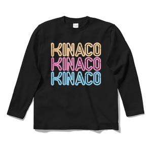 KINACOネオンサインロングスリーブTシャツ