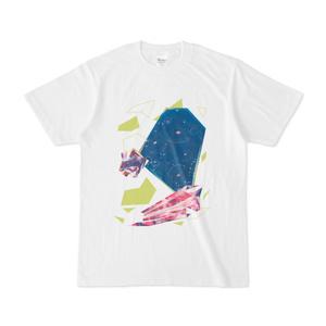 エダクダクラゲ*鉱石Tシャツ